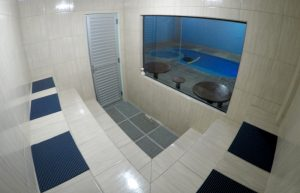 Sauna Úmida no Espaço Térmico do Hotel Paraíso da Serra